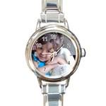 1111 - Round Italian Charm Watch