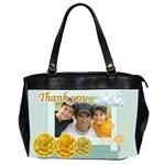 thank you mum - Oversize Office Handbag (2 Sides)