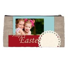 Happy Easter By Joely   Pencil Case   6dl14rrcz5hu   Www Artscow Com Back