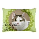 Friend with pet - Pillow Case