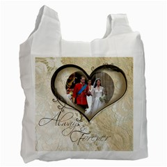 You & Me Always & Forever Recycle Bag By Catvinnat   Recycle Bag (two Side)   E4wx5l3ityz5   Www Artscow Com Front