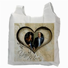 You & Me Always & Forever Recycle Bag By Catvinnat   Recycle Bag (two Side)   E4wx5l3ityz5   Www Artscow Com Back