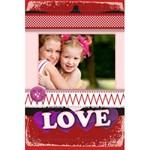 love - 5.5  x 8.5  Notebook