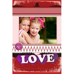 Love By Joely   5 5  X 8 5  Notebook   Wys76ggc6o7j   Www Artscow Com Back Cover