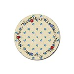 Berry Nice Coaster - Rubber Coaster (Round)