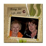 Jill & Julie Tile - Tile Coaster