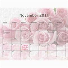 Innas Md By Enessa Zak   Wall Calendar 11  X 8 5  (18 Months)   Dby02v5q4q1n   Www Artscow Com Nov 2011