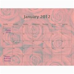 Innas Md By Enessa Zak   Wall Calendar 11  X 8 5  (18 Months)   Dby02v5q4q1n   Www Artscow Com Jan 2012