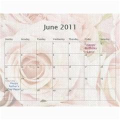 Innas Md By Enessa Zak   Wall Calendar 11  X 8 5  (18 Months)   Dby02v5q4q1n   Www Artscow Com Jun 2011