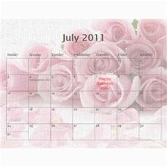 Innas Md By Enessa Zak   Wall Calendar 11  X 8 5  (18 Months)   Dby02v5q4q1n   Www Artscow Com Jul 2011