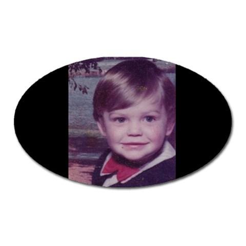 Mike Kid Oval By Sjinks Gmail Com   Magnet (oval)   L9sevwusxk0u   Www Artscow Com Front