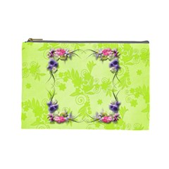Summer Cosmetic Bag (l) By Elena Petrova   Cosmetic Bag (large)   30o2xae0h79v   Www Artscow Com Front