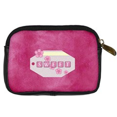 Zoey Camera Case 1 By Lisa Minor   Digital Camera Leather Case   0059h930kt9p   Www Artscow Com Back