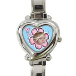 Our Little girl Watch - Heart Italian Charm Watch