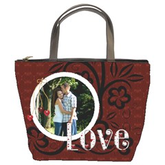 Love Forever Bucket Bag By Lil    Bucket Bag   Onwahw5a1unq   Www Artscow Com Front