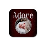 Adore Square Coaster - Rubber Coaster (Square)