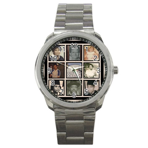 Family Reunion Watch By Lawanda   Sport Metal Watch   6wxdagd3hdvh   Www Artscow Com Front