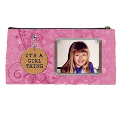 Girls Just Wanna Have Fun Pencil Case By Lil    Pencil Case   Dx1r44oeu837   Www Artscow Com Back
