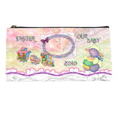 Spring Flower Floral Our Baby Train Lamb Pencil Case By Ellan   Pencil Case   We1mmynejvn6   Www Artscow Com Front