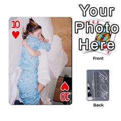 Mother s Day By Ariel   Playing Cards 54 Designs   734z92sno238   Www Artscow Com Front - Heart10