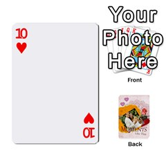 Moments By Joely   Playing Cards 54 Designs   5wgvjmfaoruf   Www Artscow Com Front - Heart10