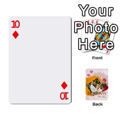 Moments By Joely   Playing Cards 54 Designs   5wgvjmfaoruf   Www Artscow Com Front - Diamond10