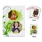 Naturee kids - Playing Cards Single Design