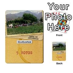 Golpe Mazo2 By Mipedtor   Multi Purpose Cards (rectangle)   Ysy7r2bldpgt   Www Artscow Com Front 9