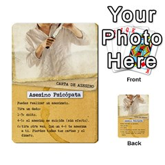Golpe Mazo2 By Mipedtor   Multi Purpose Cards (rectangle)   Ysy7r2bldpgt   Www Artscow Com Front 18