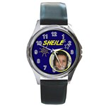SHEILE - Round Metal Watch