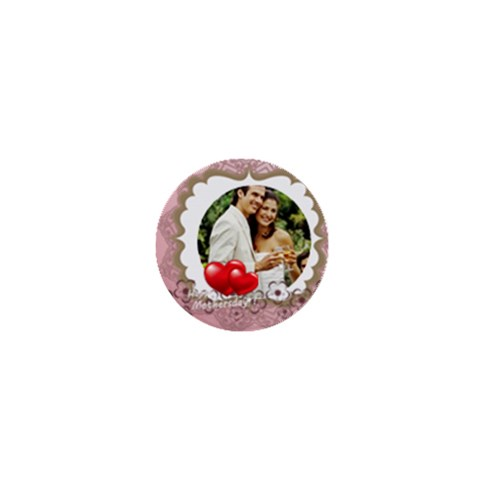 Wedding By Joely   1  Mini Magnet   Xo1ofkmaofno   Www Artscow Com Front
