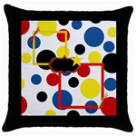 The Big Cheese Throw Pillow 1 - Throw Pillow Case (Black)