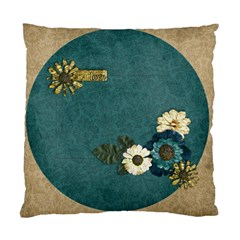 Love/flowers Custom Cushion Case (two Sides)  By Mikki   Standard Cushion Case (two Sides)   5y7a7s98uazv   Www Artscow Com Front