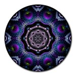 Fractal Art: May011-003A Round Mousepad