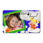 Little Angel magnet w/pic - Magnet (Rectangular)