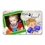 Little boy angel magnet - Magnet (Rectangular)