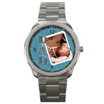 For Dad Sport Metal Watch