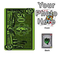 Power Grid Money (order 3 For Complete Set) By Russell Howell   Playing Cards 54 Designs   C8nmqz957ehy   Www Artscow Com Front - Club9