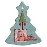Baby s First Christmas Double sided Tree Ornament - Christmas Tree Ornament (Two Sides)
