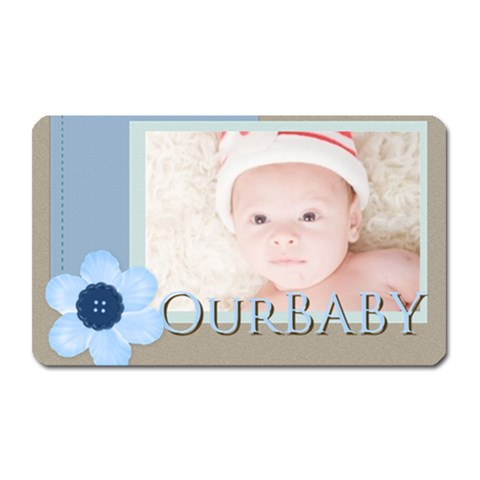 Our Baby By Joely   Magnet (rectangular)   B45d1hpvlem7   Www Artscow Com Front