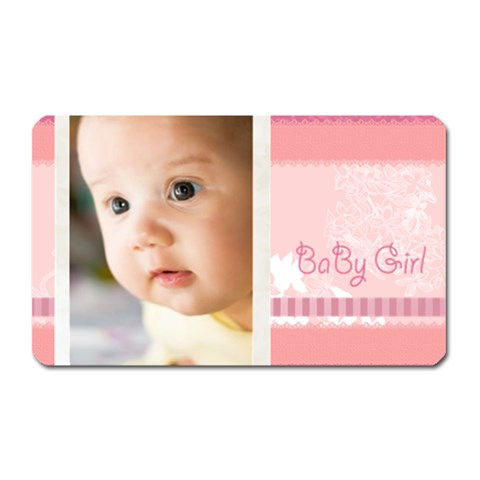 Baby Girl By Joely   Magnet (rectangular)   9xs930z4tmwn   Www Artscow Com Front