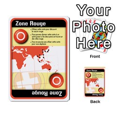 Carte Pendemie By Poaka4   Multi Purpose Cards (rectangle)   6l51a230w45n   Www Artscow Com Back 1