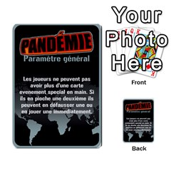 Carte Pendemie By Poaka4   Multi Purpose Cards (rectangle)   6l51a230w45n   Www Artscow Com Front 9