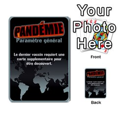 Carte Pendemie By Poaka4   Multi Purpose Cards (rectangle)   6l51a230w45n   Www Artscow Com Front 10