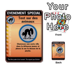 Carte Pendemie By Poaka4   Multi Purpose Cards (rectangle)   6l51a230w45n   Www Artscow Com Front 11