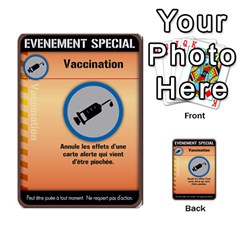 Carte Pendemie By Poaka4   Multi Purpose Cards (rectangle)   6l51a230w45n   Www Artscow Com Front 12