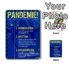 Carte Pendemie By Poaka4   Multi Purpose Cards (rectangle)   6l51a230w45n   Www Artscow Com Front 22