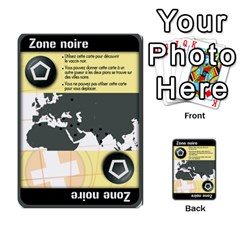 Carte Pendemie By Poaka4   Multi Purpose Cards (rectangle)   6l51a230w45n   Www Artscow Com Front 24
