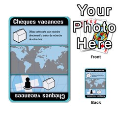 Carte Pendemie By Poaka4   Multi Purpose Cards (rectangle)   6l51a230w45n   Www Artscow Com Front 34