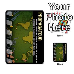 Carte Pendemie By Poaka4   Multi Purpose Cards (rectangle)   6l51a230w45n   Www Artscow Com Front 47